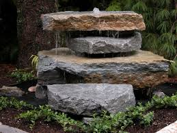 Fake Rocks For Landscaping by Best 10 Rock Fountain Ideas On Pinterest Garden Fountains
