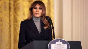 melania trump critics will not stop me from fighting cyberbullying