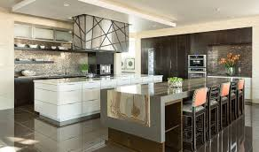 Modern Kitchen Designs 2014 Dining Room Luxury Large Kitchen Design With White Wooden Kitchen