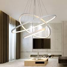Schlafzimmer Lampe Modern Moderne Led Kronleuchter Ring Lustre Beleuchtung Mit Fernbedienung