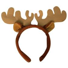 amazon com plush moose costume headband toys u0026 games
