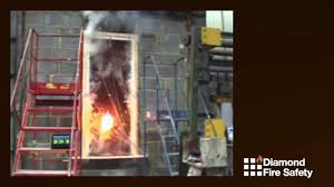 fire proof doors with glass diamond fire safety refurbished fire door test 30 minute test