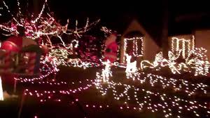 House Christmas Lights by Thompson House Christmas Lights In Marietta Youtube
