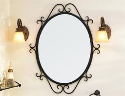 granada oval scroll mirror from st thomas creations