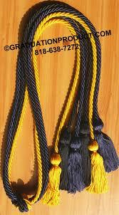 graduation cords cheap navy blue black and gold graduation honor cords 4 25