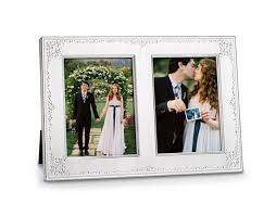 wedding gift opening 5x7 opening invitation wedding photo frame seed pearl 2