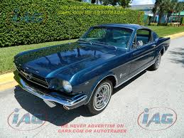 1965 fastback mustang value ford for sale