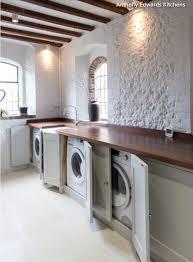kitchen laundry ideas kitchen laundry ideas new cupboard doors hiding washing machine and