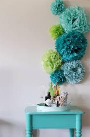 Pom Pom Decorations Diy Tissue Paper Pom Poms Backdrop The Sweetest Occasion