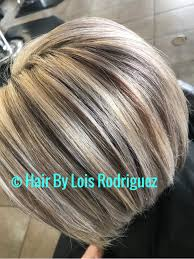 bob hair with high lights and lowlights highlights lowlights hair bob blonde haircolor haircare