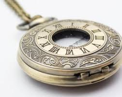 ladies pocket watch necklace images Ladies pocket watch etsy jpg