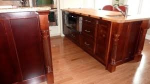 kitchen island leg ted m s kitchen remodel applying corbels molding island legs