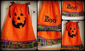 kaleidoscope of colors pumpkin pillow case dress