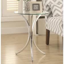 glass end u0026 side tables you u0027ll love wayfair