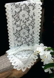 black lace table runners wedding u2013 pnashty com