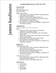 Resume Footer 1 Or 2 Page Resume 10 Class Free Resume Templates
