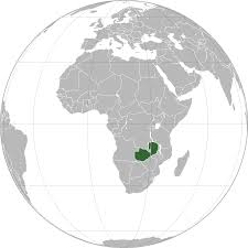 Map Of Zambia Location Of The Zambia In The World Map