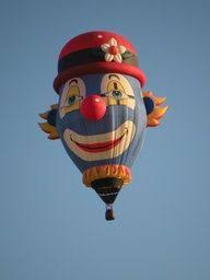 clown balloon l clown hot air balloon clowns air balloon hot air