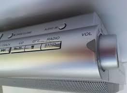 Kitchen Under Cabinet Radio Cd Player Sony Icf Cdk50 Under Cabinet Kitchen Am Fm Radio Cd Player With