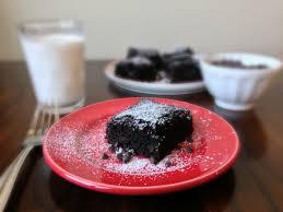 skinny chocolate cake made with greek yogurt chez cateylou