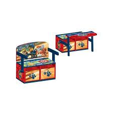 maxi bureau pat patrouillle bureau coffre 3 en 1 maxi toys