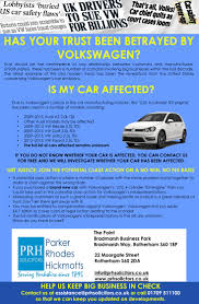 has your trust been betrayed by volkswagen prh solicitors