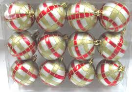 Christmas Ornament With Photo Red U0026 Gold Christmas Ornaments