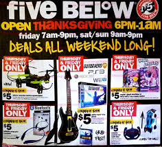 five below black friday 2017 ads deals and sales