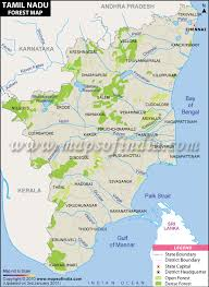 tamil nadu map tamil nadu forest map forests in tamil nadu