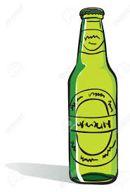 cartoon alcohol bottle beer bottle royalty free cliparts vectors and stock illustration
