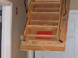 attic stairs insulation auto stairs retractable attic loft stairs