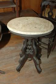 marble top pedestal table marble top pedestal table on wheels antiques pinterest