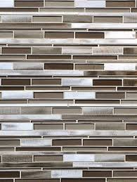 BA  Glass  Metal Mosaic Backsplash Mosaics And Metals - Metal tiles backsplash