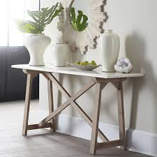 marble sofa table marble top console table wisteria