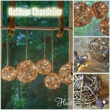 Outdoor Hanging Chandeliers Outdoor Chandelier Lighting Diy Thesecretconsul Com