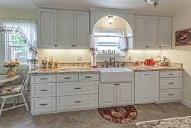 Rohl Country Kitchen Bridge Faucet Kitchen Case Study White Country Cabinets