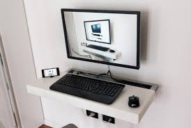 Floating Wall Desk 4 Diy Floating Wall Desks Tutorials To Build Your Own Floating
