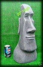 brilliant large easter island moai garden ornament easter