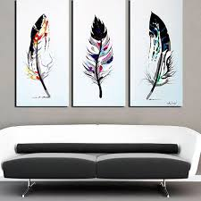 Diy Paintings For Home Decor Best 25 3 Piece Wall Art Ideas On Pinterest 3 Piece Art Diy