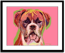 boxer dog umbrella boxers dogbreed gifts com boxer art prints paintings posters