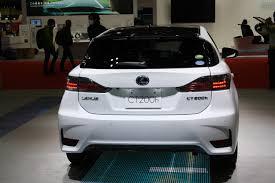 lexus hybrid ct200h 2013 2014 lexus ct200h facelift shown at tokyo u0026 guangzhou