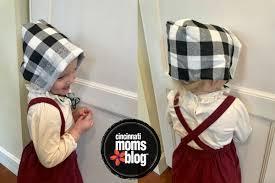 kid craft thanksgiving pilgrim bonnet