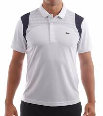 lacoste siege lacoste performance panel polo