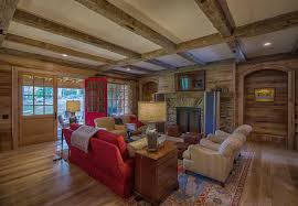 Living Room Ceiling Beams Reclaimed Wood Beams