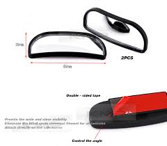 Mirrors For Blind Spots On Cars Side Blind Spot Wide Mirror Car Swivel Multi View Angle Mirrors