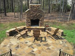 how close can an outdoor fireplace be to my home archadeck of