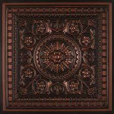 Da Vinci Faux Tin Ceiling Tile Drop in 24