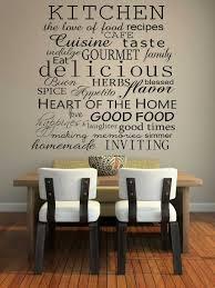 kitchen kitchen and dining room decoration using quote