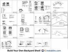 6x8 lean to chicken coop plan google search chicken coop