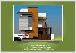 Stylish Duplex House Plans 30x50 South Facing Homes Zone Front 1 Bhk Duplex House Plans